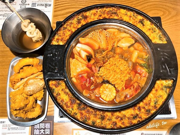 【台北美食●中山區】兩餐두끼韓國年糕火鍋吃到飽◎  大直店