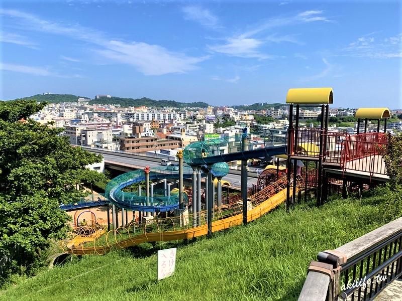 【沖繩●豐見城市】海軍壕公園◎超長溜滑梯.人氣親子景點.MAPCODE(有影片)