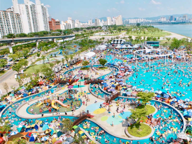游泳池、戲水區