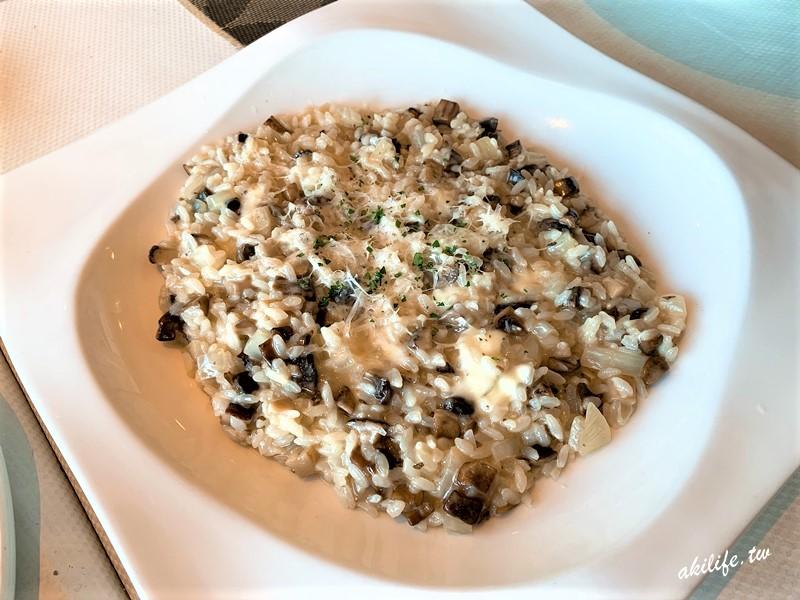 蘑菇奶油燉飯