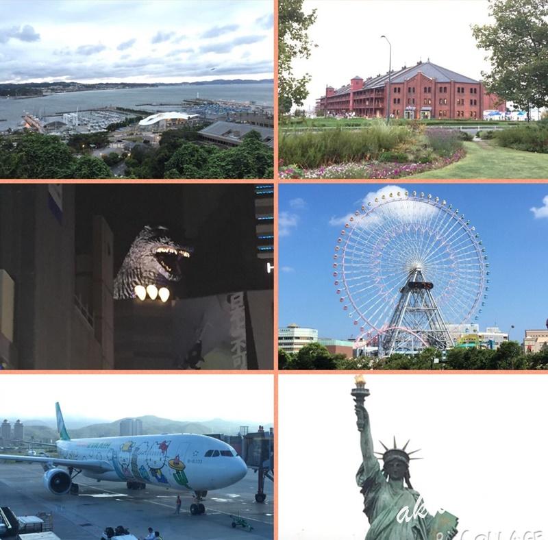 【東京自由行】九天八夜行程規劃104/08/22~104/08/30橫濱.東京迪士尼.SKY Duck
