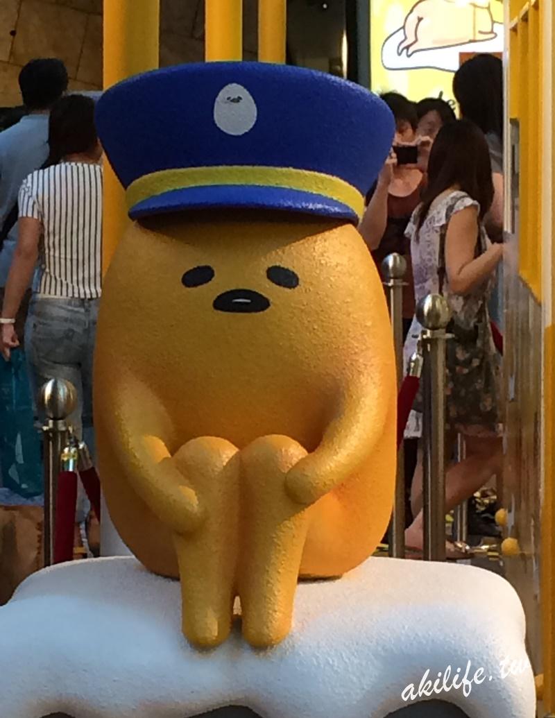 【香港●旺角】蛋黃哥gudetama●朗豪坊「梳乎蛋食堂」展