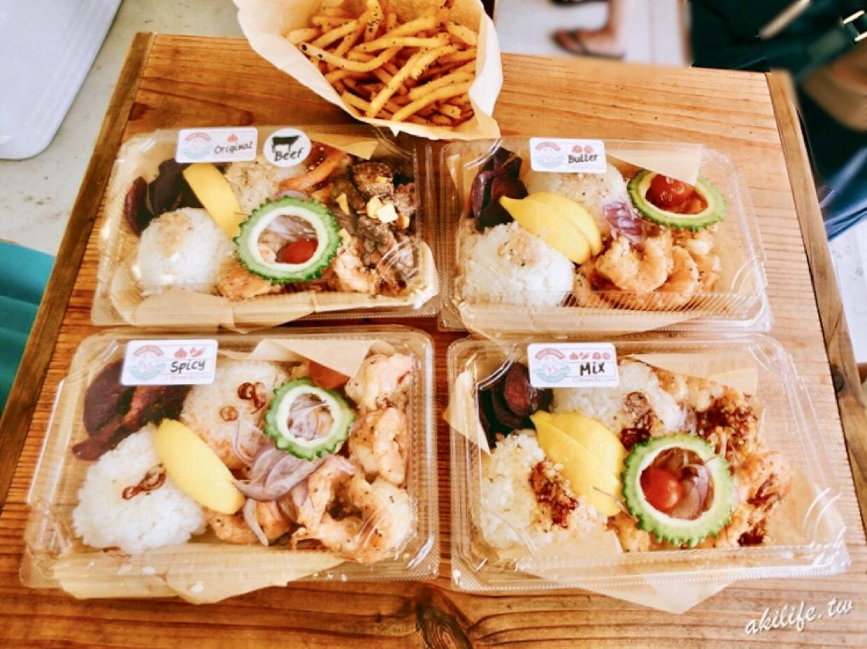 【沖繩●古宇利島】KOURI SHRIMP蝦餐車◎超人氣排隊蝦蝦飯.2018新店面